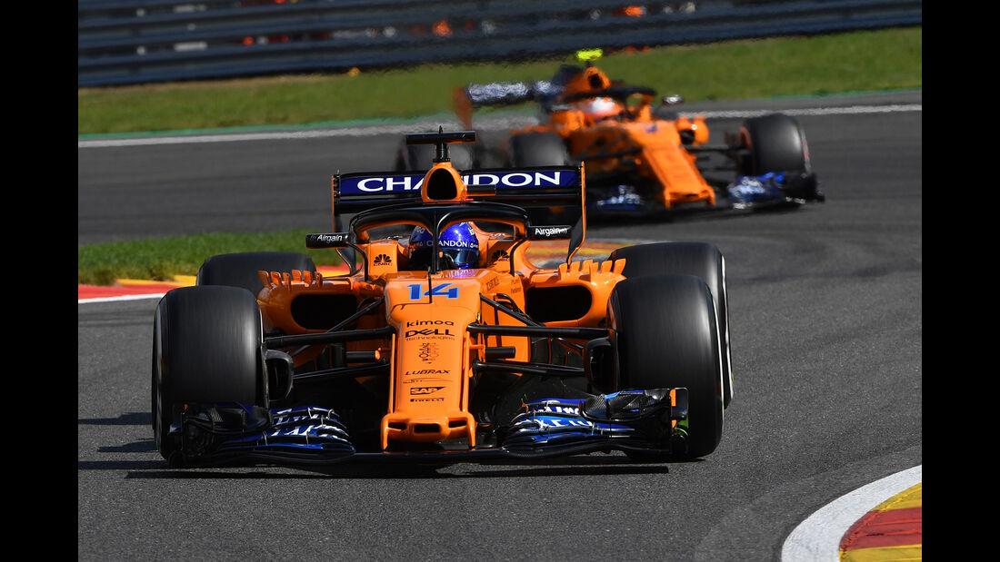 McLaren - Formel 1 - GP Belgien 2018