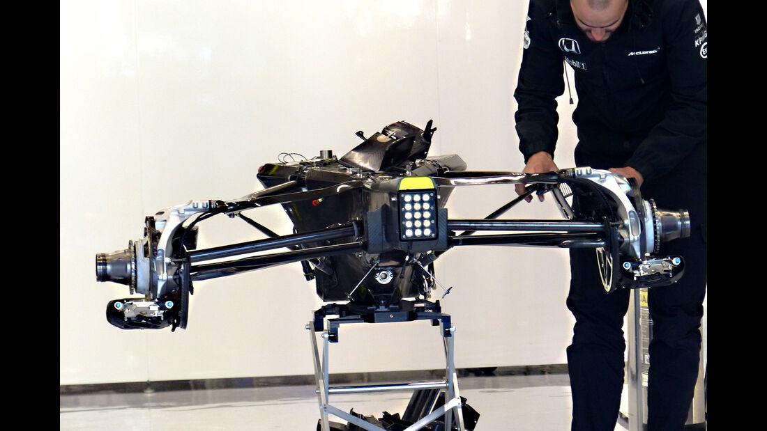 McLaren - Formel 1 - GP Belgien - Spa-Francorchamps - 20. August 2015