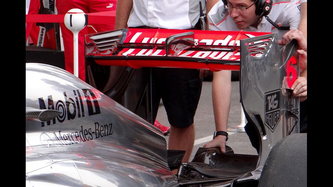McLaren - Formel 1 - GP Belgien - Spa-Francorchamps - 22. August 2013