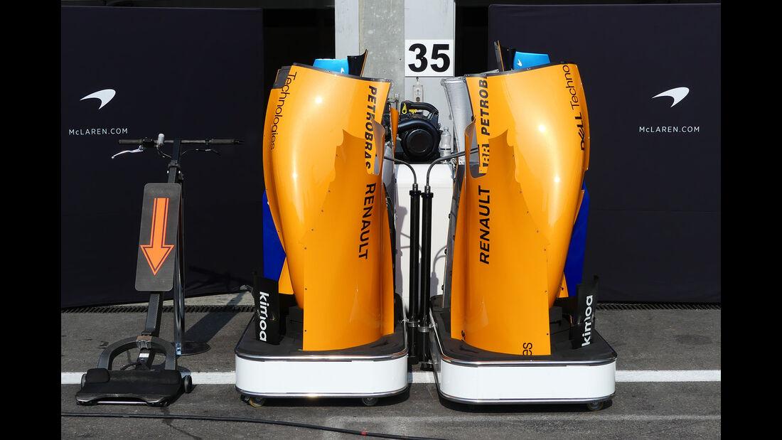 McLaren - Formel 1 - GP Belgien - Spa-Francorchamps - 22. August 2018