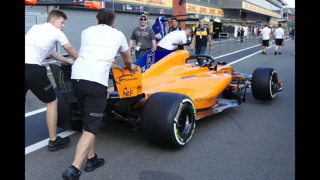 McLaren - Formel 1 - GP Belgien - Spa-Francorchamps - 23. August 2018