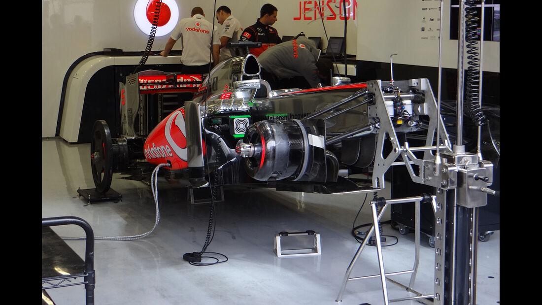 McLaren - Formel 1 - GP Belgien - Spa-Francorchamps - 24. August