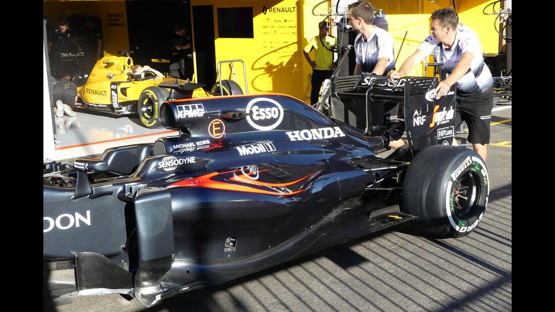 McLaren - Formel 1 - GP Belgien - Spa-Francorchamps - 25. August 2016