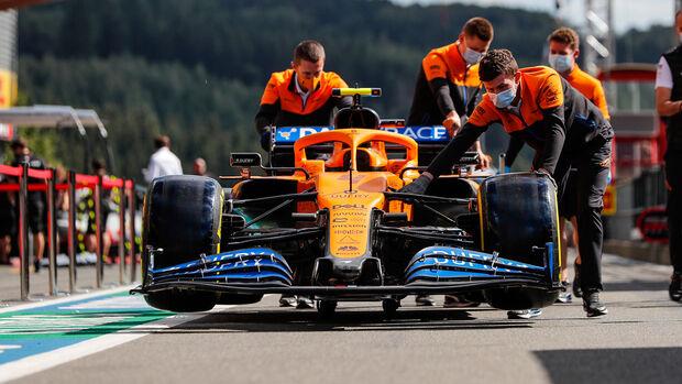 McLaren - Formel 1 - GP Belgien - Spa-Francorchamps - Donnerstag - 27. August 2020