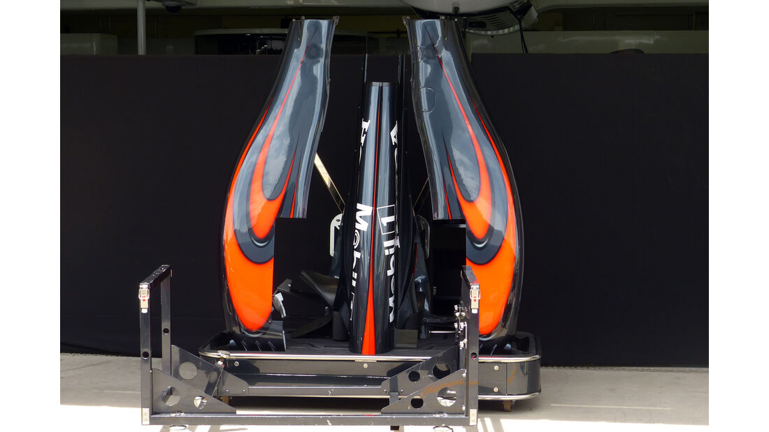 McLaren - Formel 1 - GP Brasilien- 11. November 2015