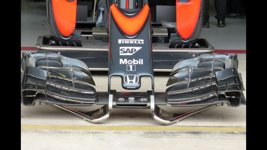 McLaren - Formel 1 - GP Brasilien- 13. November 2015