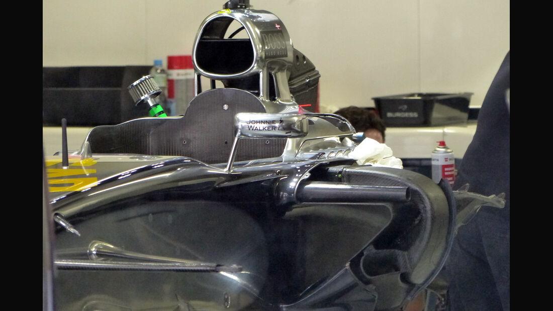McLaren - Formel 1 - GP Brasilien -5. November 2014