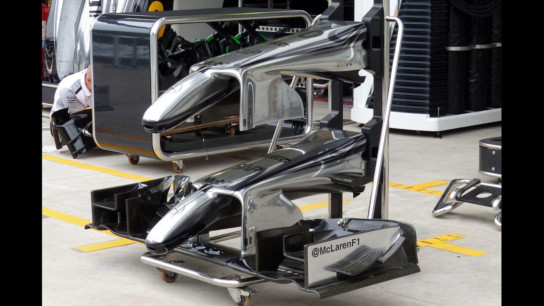 McLaren  - Formel 1 - GP Brasilien - 6. November 2014