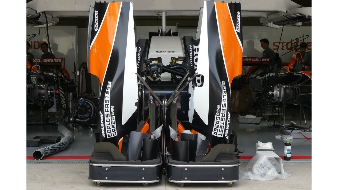 McLaren - Formel 1 - GP Brasilien - 9. November 2017