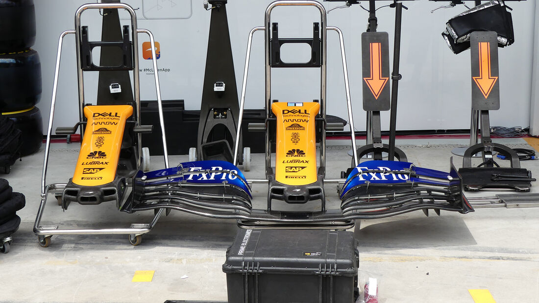 McLaren - Formel 1 - GP Brasilien - Sao Paulo - 13. November 2019