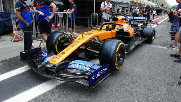McLaren - Formel 1 - GP Brasilien - Sao Paulo - 14. November 2019