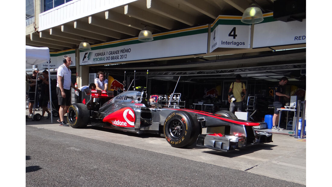 McLaren - Formel 1 - GP Brasilien - Sao Paulo - 22. November 2012