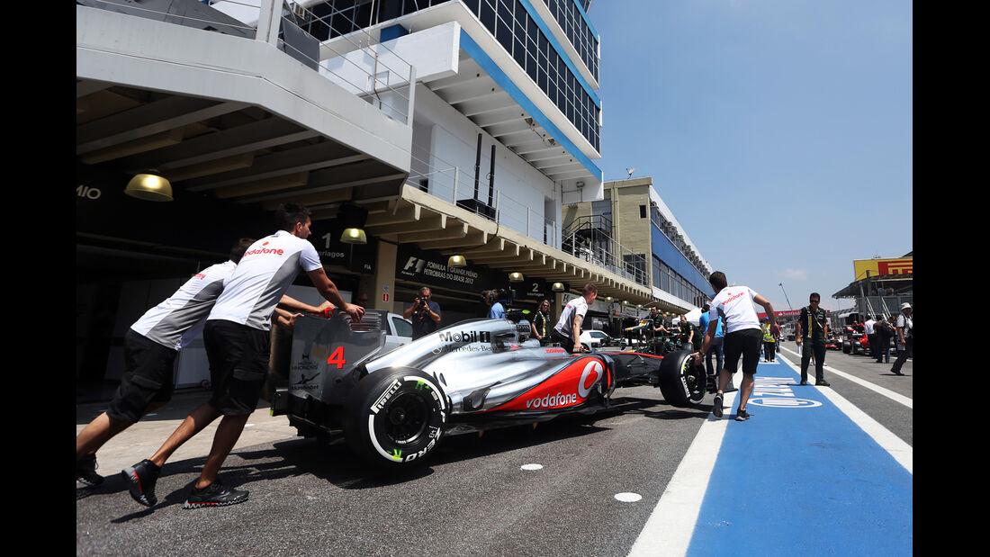 Start Formel 1 Brasilien