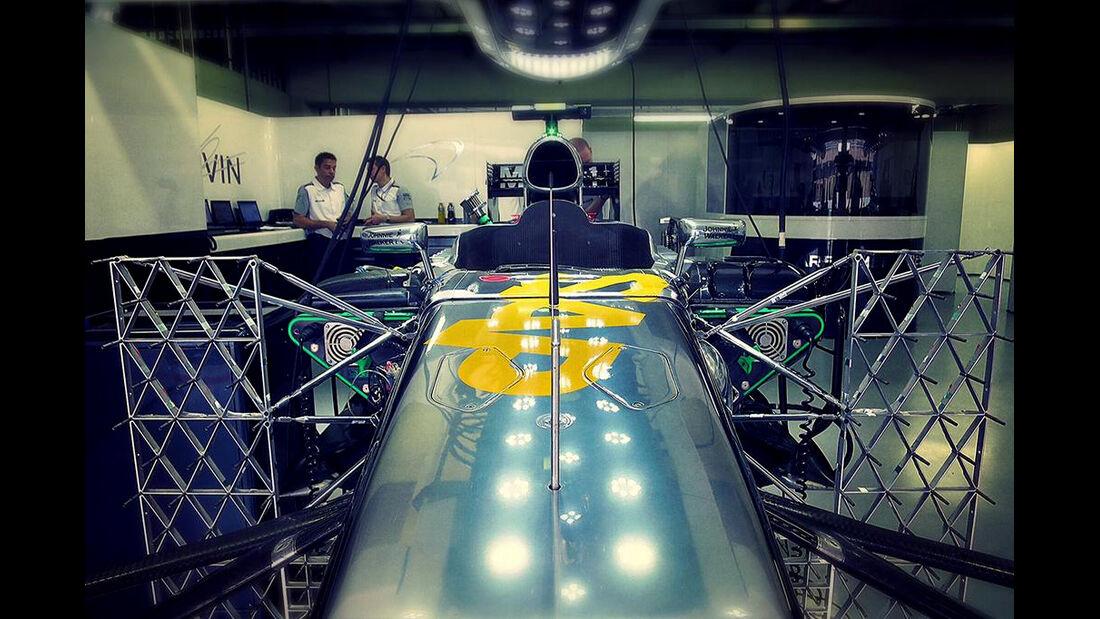 McLaren - Formel 1 - GP Brasilien - Sao Paulo - 7. November 2014