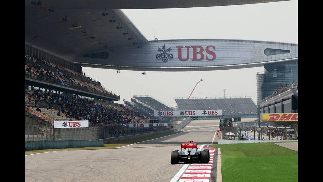 McLaren - Formel 1 - GP China - 12. April 2013