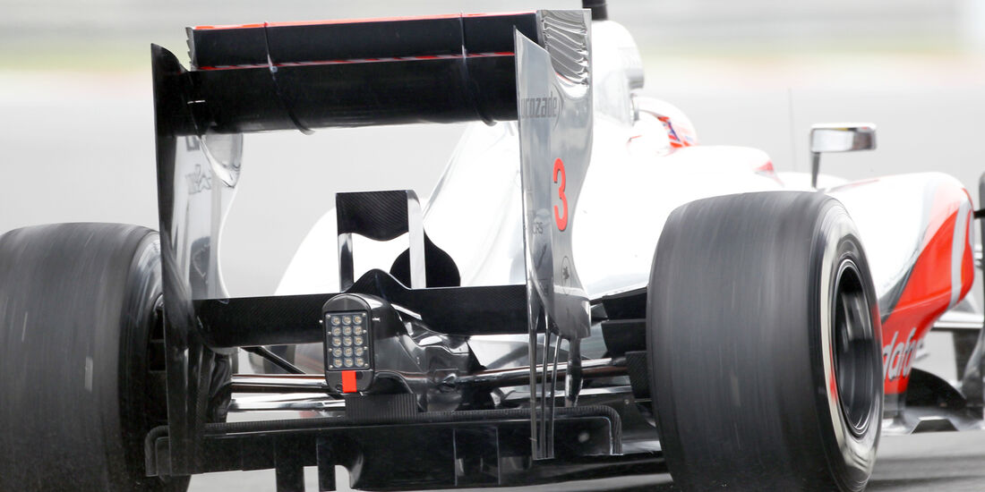 McLaren - Formel 1 - GP China - 13. April 2012