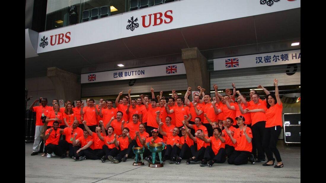 McLaren Formel 1 GP China 2011