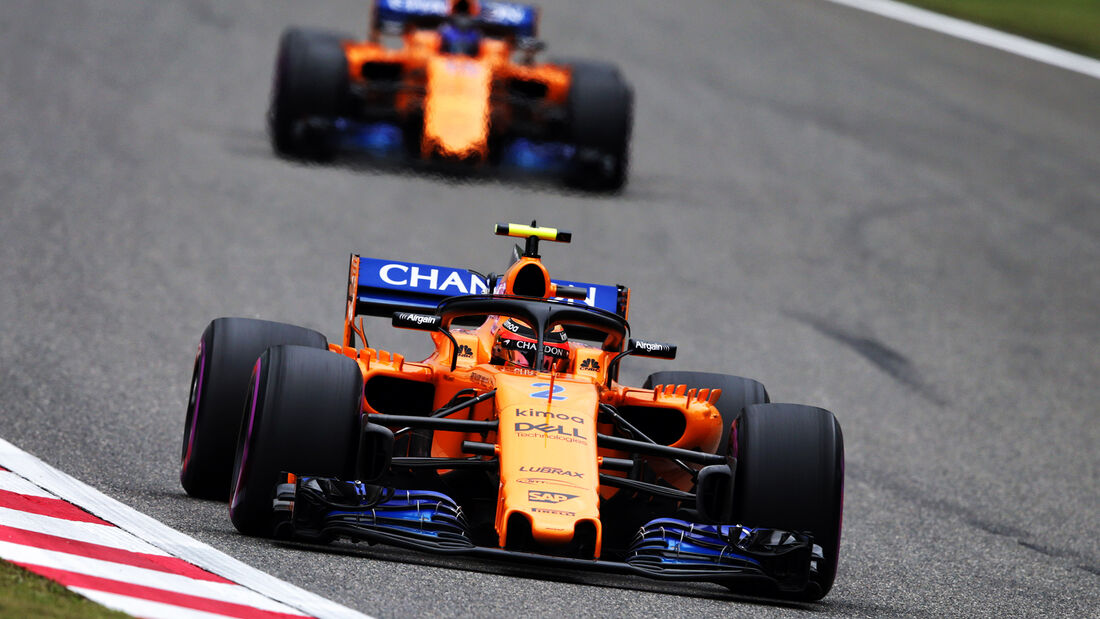 McLaren - Formel 1 - GP China 2018