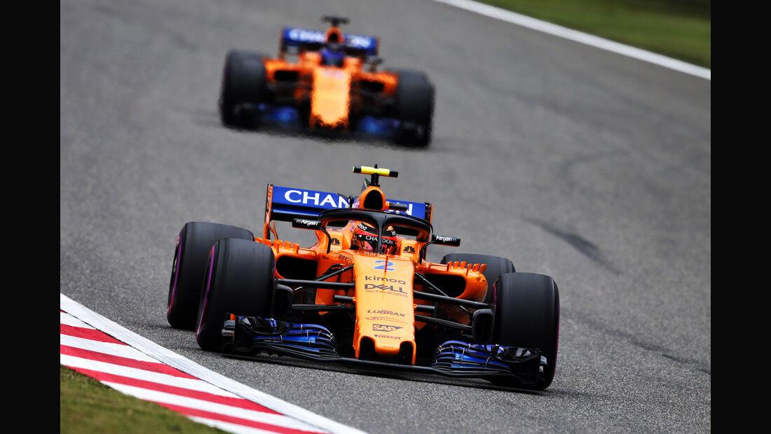 McLaren - Formel 1 - GP China 2018