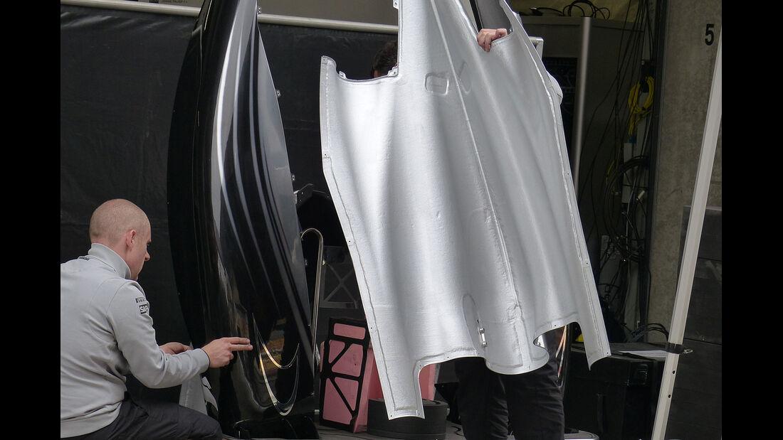 McLaren - Formel 1 - GP China - Shanghai - 16. April 2014