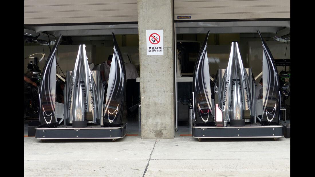McLaren - Formel 1 - GP China - Shanghai - 17. April 2014