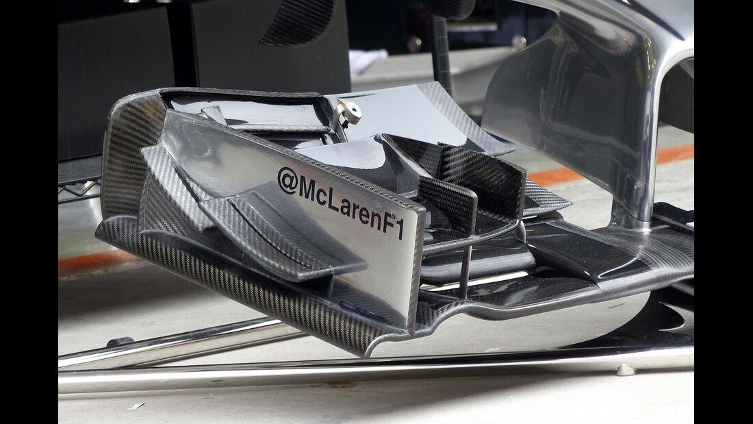 McLaren - Formel 1 - GP China - Shanghai - 18. April 2014