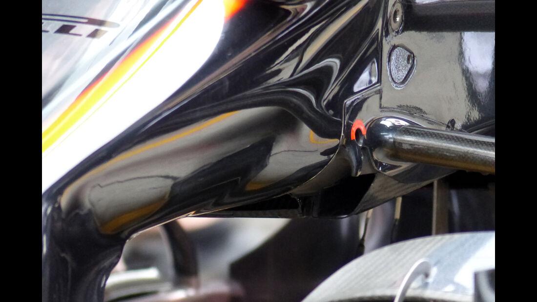 McLaren - Formel 1 - GP China - Shanghai - 9. April 2015