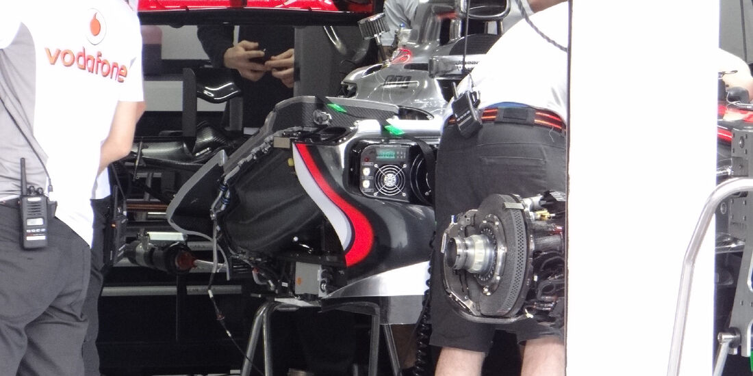 McLaren - Formel 1 - GP Deutschland - 19. Juli 2012