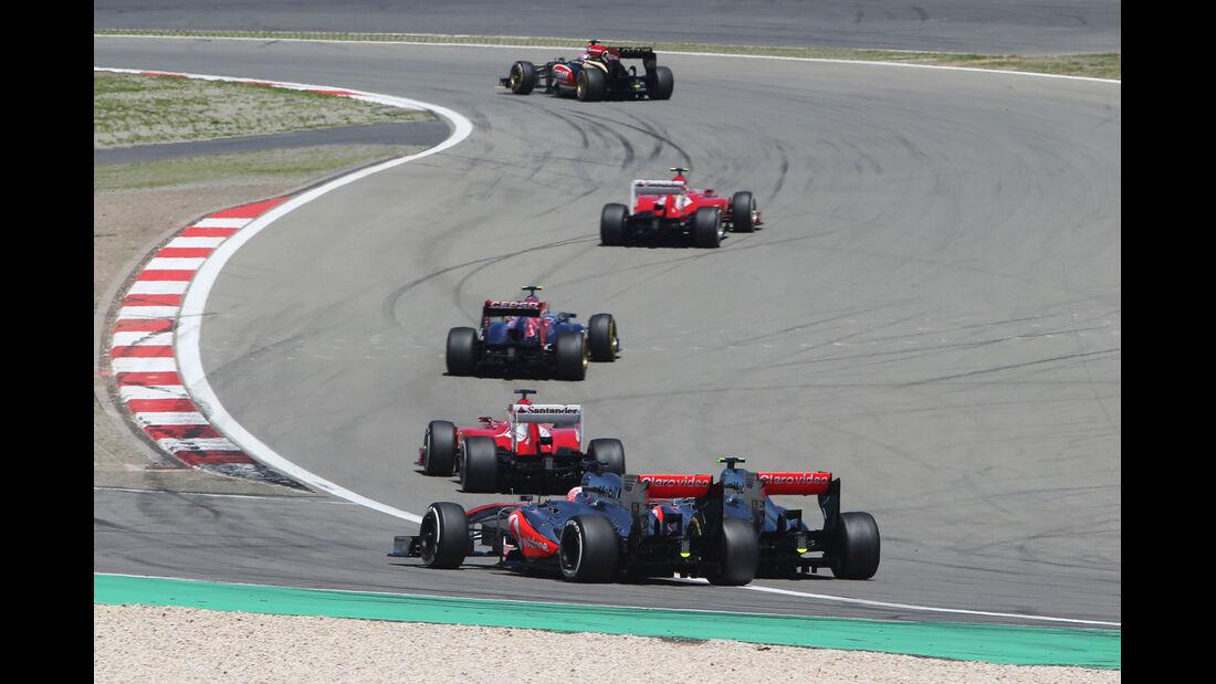 McLaren - Formel 1 - GP Deutschland 2013