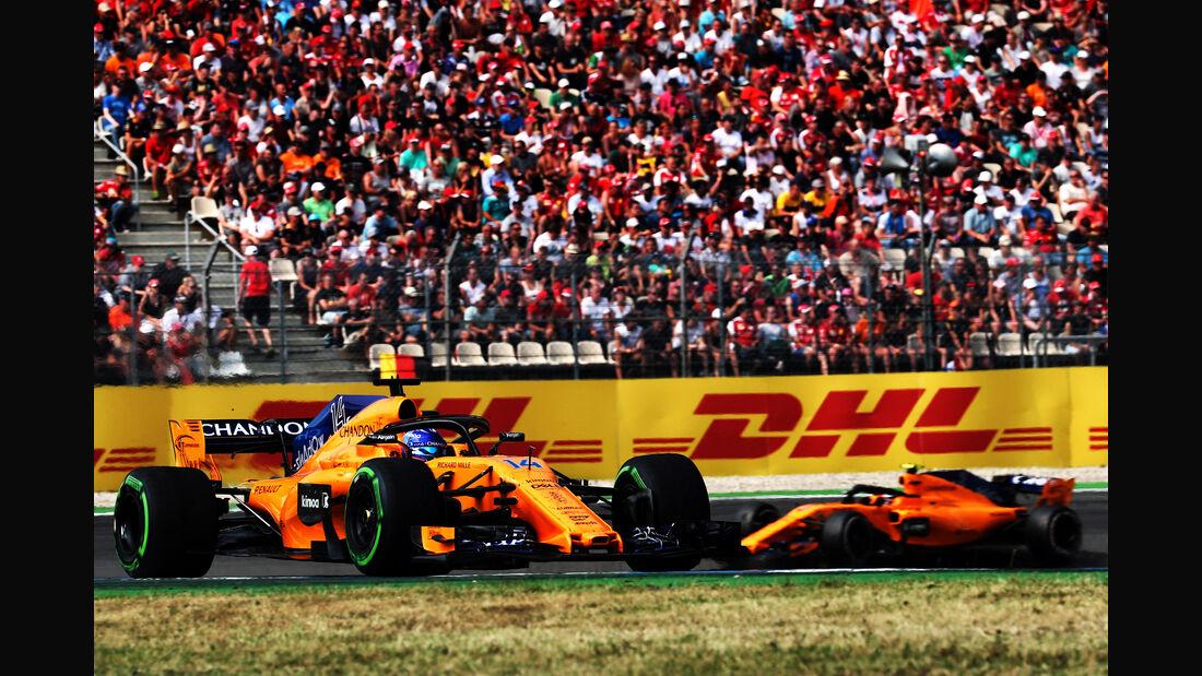 McLaren - Formel 1 -GP Deutschland 2018