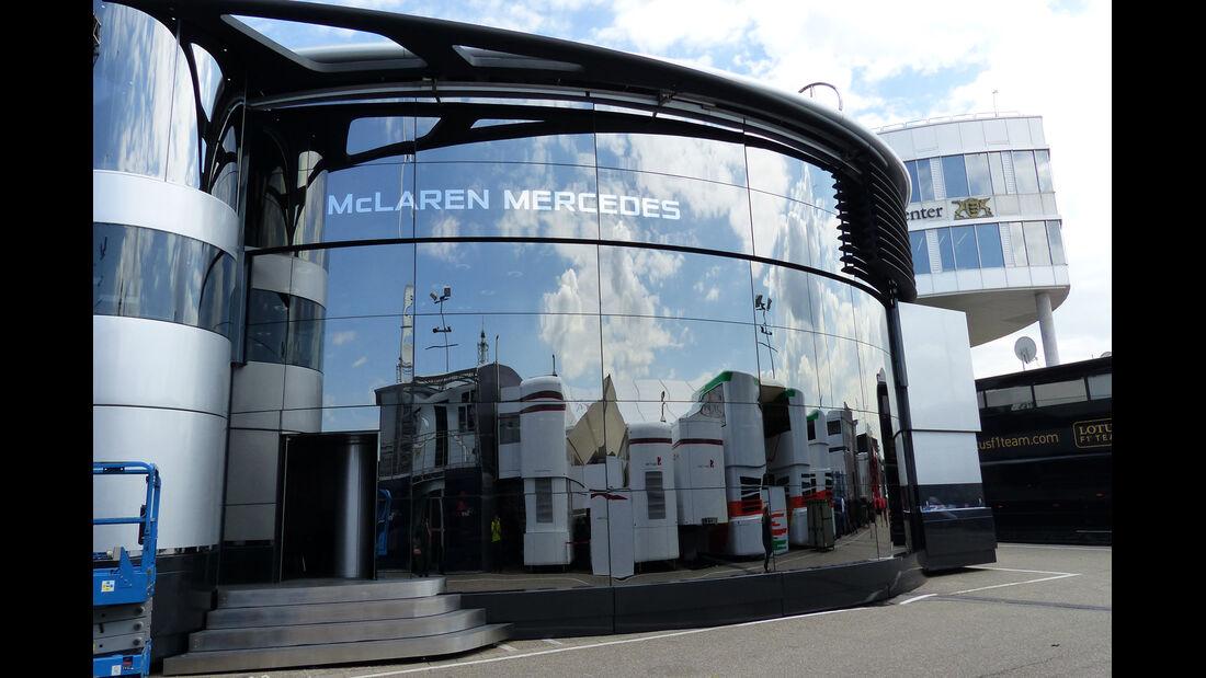 McLaren - Formel 1 - GP Deutschland - Hockenheim - 16. Juli 2014