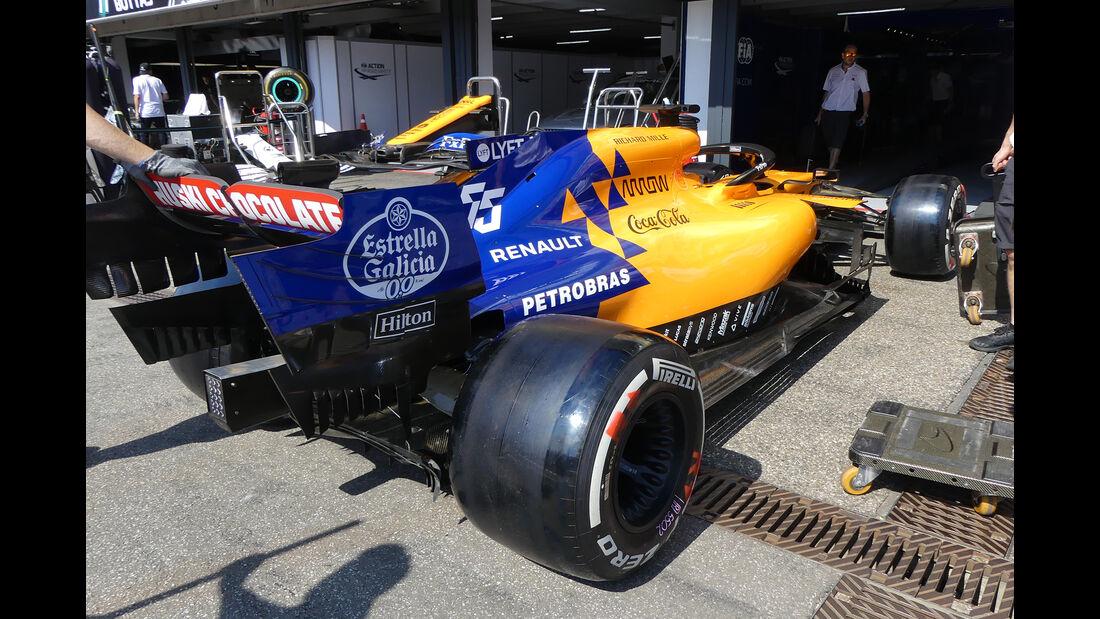 McLaren - Formel 1 - GP Deutschland - Hockenheim - 25. Juli 2019