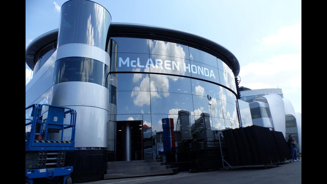 McLaren - Formel 1 - GP Deutschland - Hockenheim - 27. Juli 2016