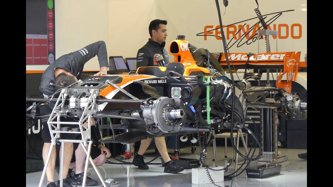 McLaren - Formel 1 - GP England - 13. Juli 2017
