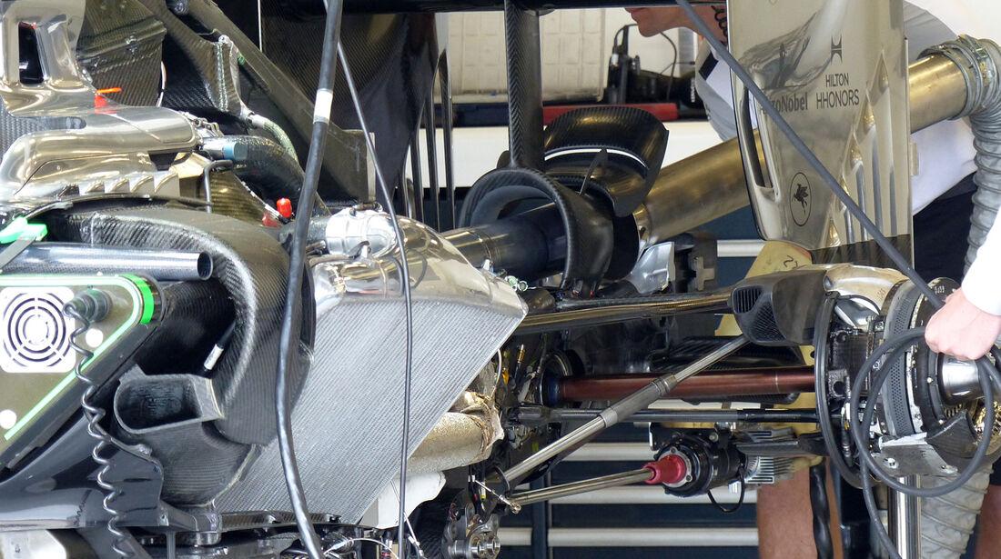 McLaren - Formel 1 - GP England - Silverstone - 3. Juli 2014