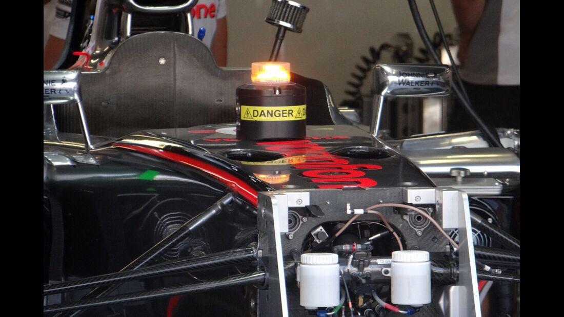 McLaren - Formel 1 - GP Italien - 6. September 2012