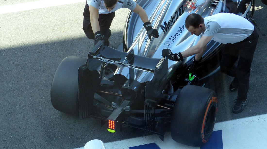 McLaren - Formel 1 - GP Italien - 6. September 2014