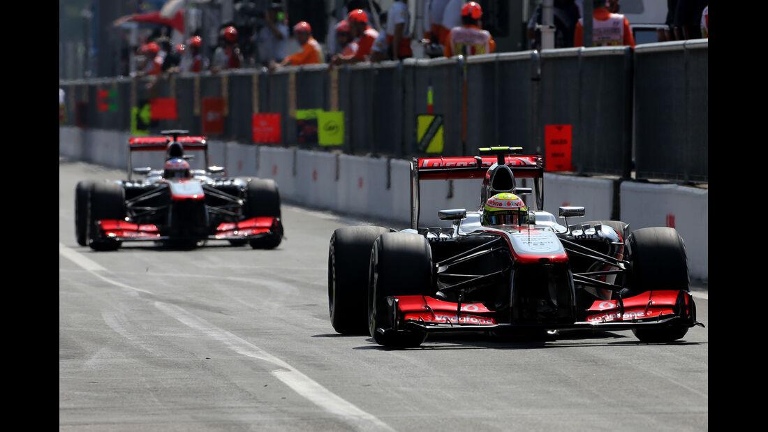 McLaren - Formel 1 - GP Italien - 7. September 2013