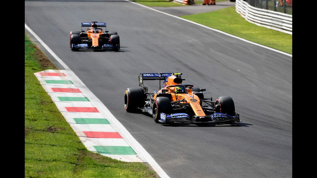 McLaren - Formel 1 - GP Italien - Monza - 2019