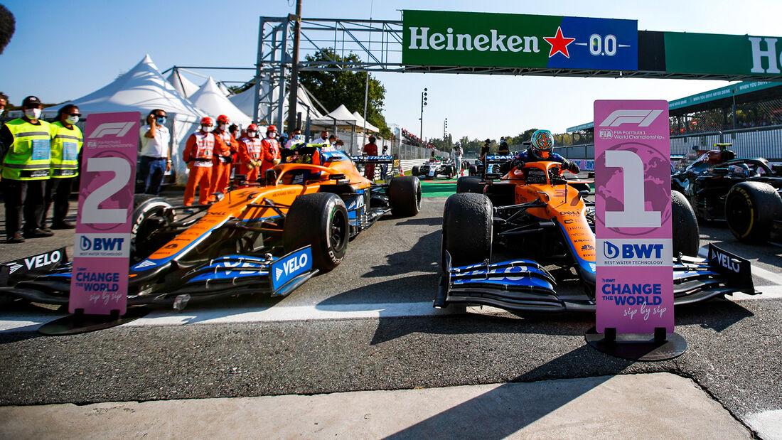 McLaren - Formel 1 - GP Italien - Monza - 2021