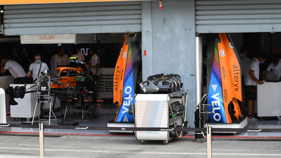 McLaren - Formel 1 - GP Italien - Monza - 9. September  2021