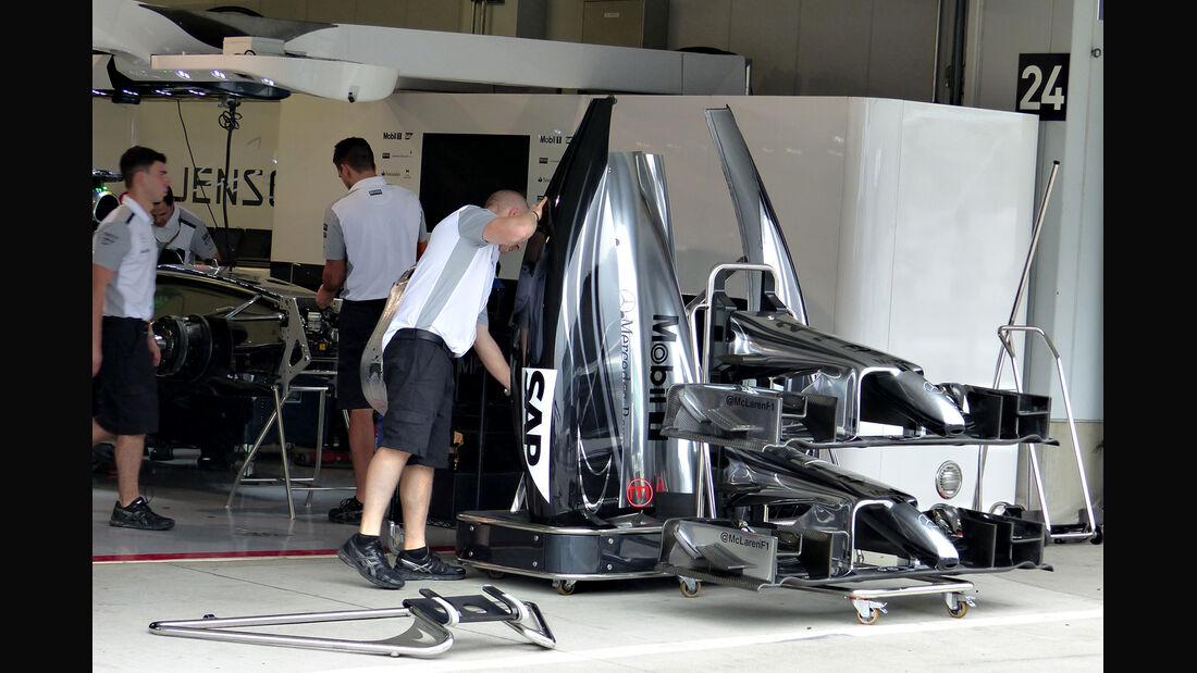 McLaren - Formel 1 - GP Japan - Suzuka - 2. Oktober 2014