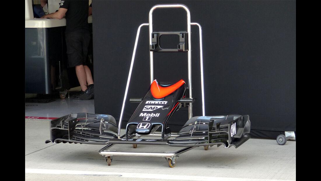 McLaren - Formel 1 - GP Japan - Suzuka - 23. September 2015