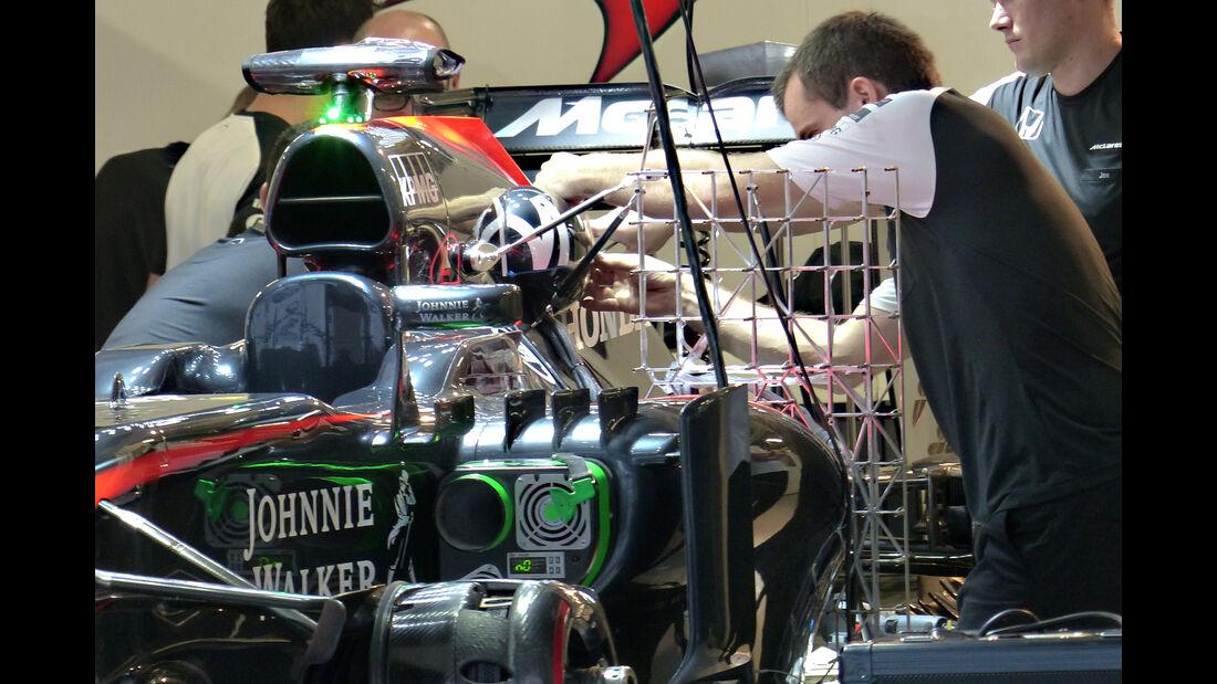 McLaren - Formel 1 - GP Japan - Suzuka - 24. September 2015