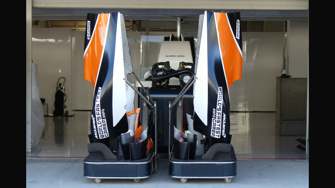McLaren - Formel 1 - GP Japan - Suzuka - 4. Oktober 2017