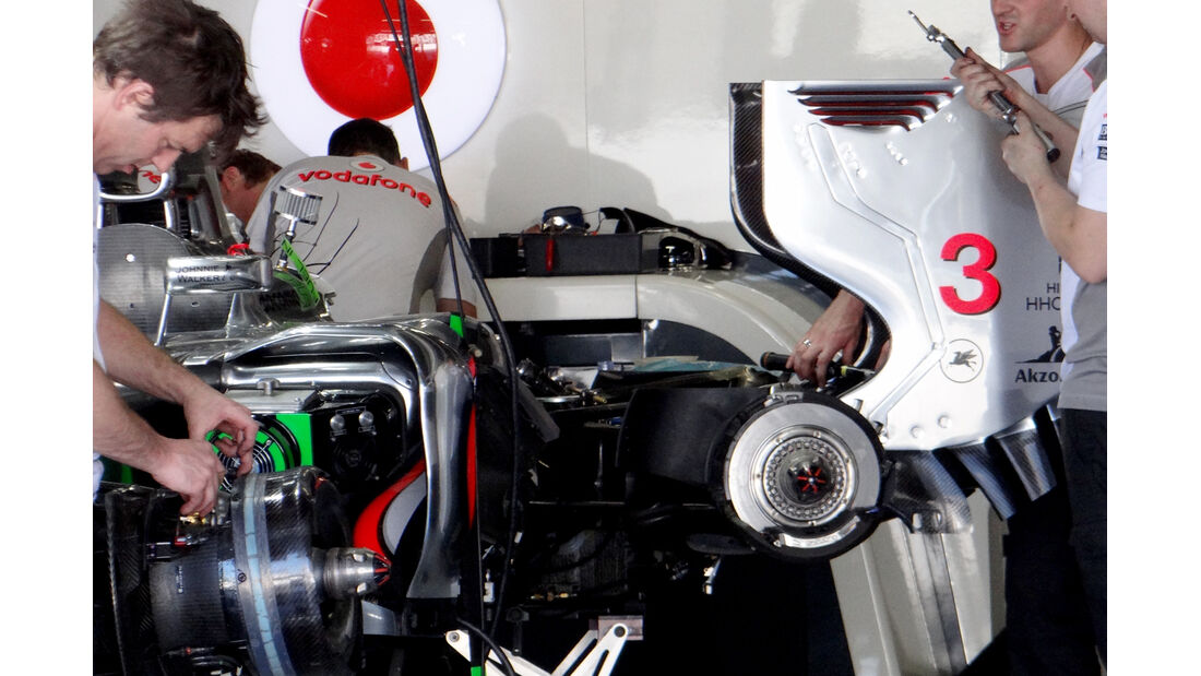 McLaren - Formel 1 - GP Japan - Suzuka - 5. Oktober 2012