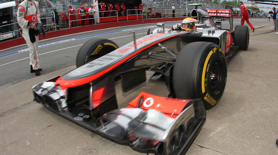 McLaren Formel 1 GP Kanada 2012