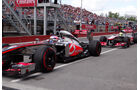 McLaren - Formel 1 - GP Kanada 2013