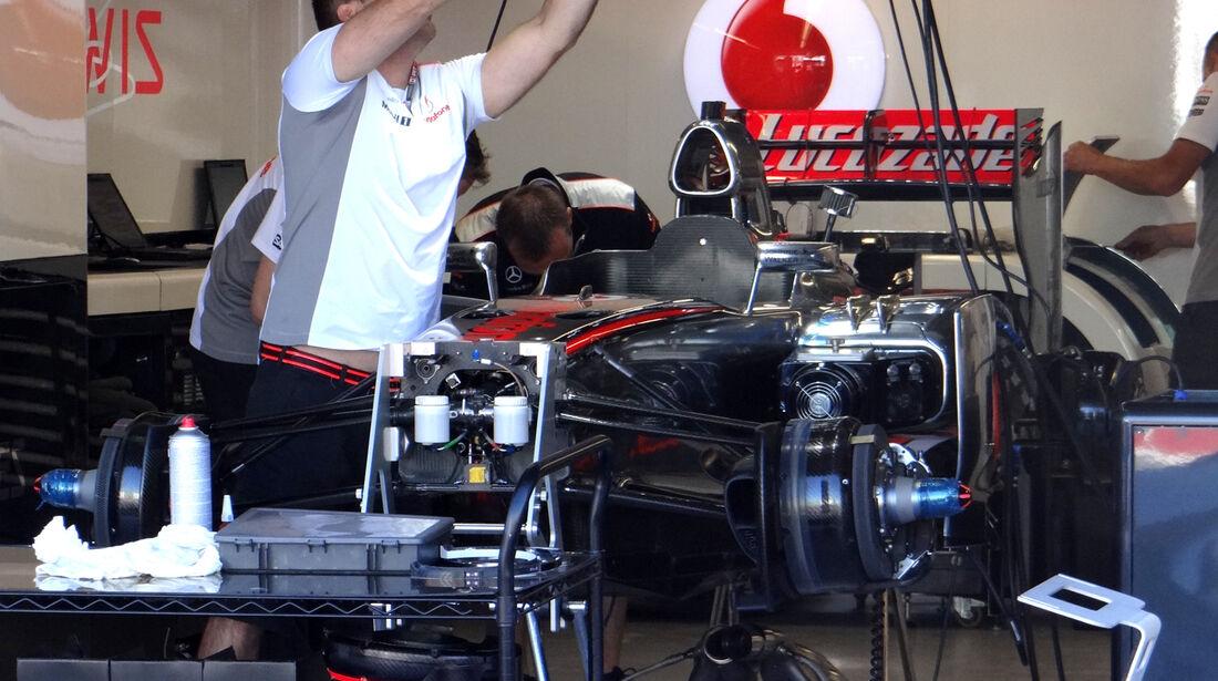 McLaren - Formel 1 - GP Kanada - 7. Juni 2012
