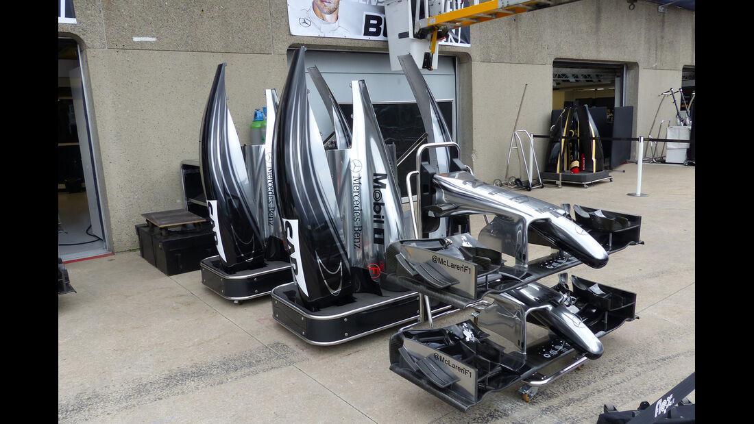 McLaren - Formel 1 - GP Kanada - Montreal - 4. Juni 2014